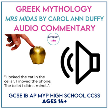 Mrs Midas Audio Commentary & Learning Activities