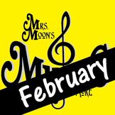 Mrs. Moon's Music: Add-a-long Songs: February Song STANDAR