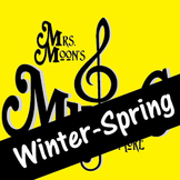 Mrs. Moon's Music: Add-a-long Songs: WINTER-SPRING SONG COLLECTION