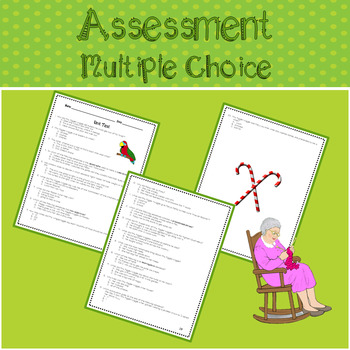 Mrs. Piggle-Wiggle Assessment and Vocabulary