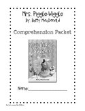 Mrs. Piggle Wiggle Comprehension Questions Packet