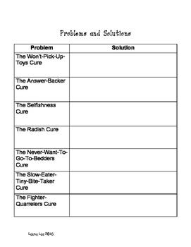 Mrs. Piggle Wiggle Worksheets