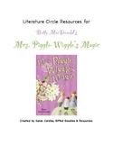 Mrs. Piggle-Wiggle's Magic Literature Circle Resources