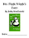 Mrs. Piggle Wiggle's Farm Guided Reading Packet