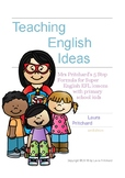 Mrs Pritchard's 5 Step Formula for Super EFL Lessons with