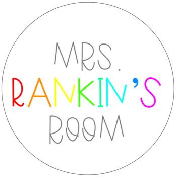 Mrs. Rankin's Room Store Button / Logo