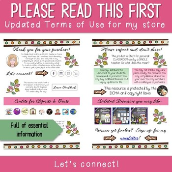 Mrs Recht's Virtual Classroom - Terms of Use