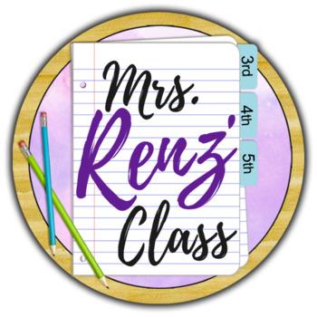 Mrs. Renz Class Logo