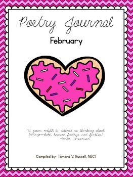 Mrs. Russell's Poetry Journal Poems for February {FREEBIE}