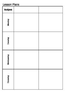 Mrs. Smith's Lesson Book