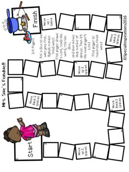 Mrs. Sue's Fondue! (a long u (ue) board game activity) Orton-Gillingham Inspired