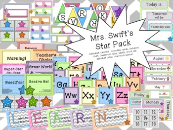 Mrs. Swift's Classroom Pack