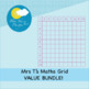 Mrs T's Multiplication and Addition Maths Grid Clip Art BUNDLE