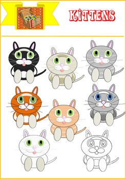 Mrs Treasure Trove Cutest Kittens Clipart