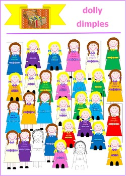 Mrs Treasure Trove Dolly Dimples Clipart for young children