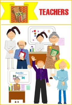 Mrs Treasure Trove Teachers Clipart