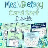 Mrs. V Biology's Card Sort Bundle!