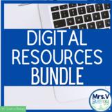 Mrs. V's Digital Resources GROWING Bundle