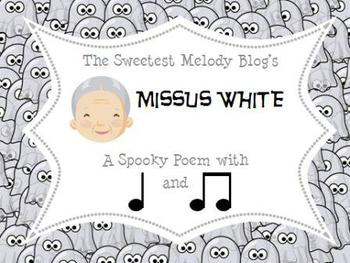 Mrs. White Ghostly Mini Lessons
