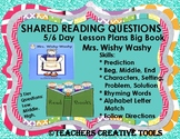 Mrs. Wishy Washy 6 Day Shared Reading Lesson Plans