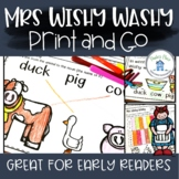 Mrs Wishy Washy A Literature Unit