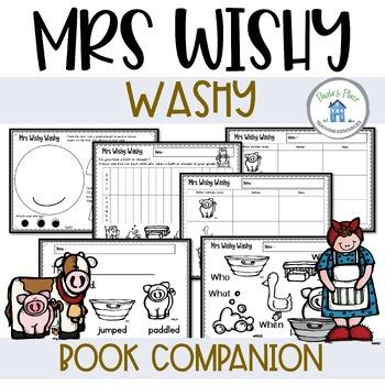 Mrs Wishy Washy - A Literature Unit