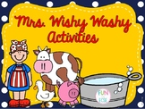 Mrs. Wishy Washy Retell Activities