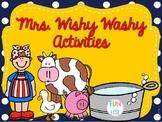 Mrs. Wishy Washy Retell Activities