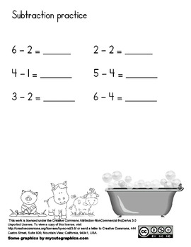 Mrs. Wishy Washy Addition and Subtraction Books