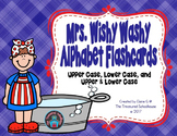 Mrs. Wishy Washy Alphabet ABC Flashcards
