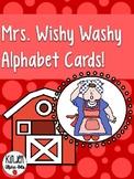 Mrs. Wishy Washy Alphabet Match