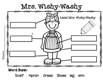 Mrs. Wishy-Washy Book Companion