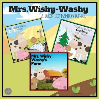 Mrs. Wishy-Washy Book Companion Bundle