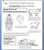 Mrs. Wishy Washy: Character and Setting