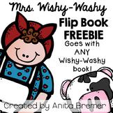 Mrs. Wishy-Washy Flip Book FREEBIE {Works with ANY Wishy-Washy Book!}