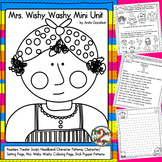 Mrs Wishy Washy Readers Theater, Headband Pattern, and More Freebie
