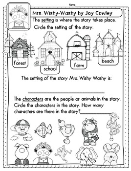 Mrs Wishy Washy Readers Theater, Headband Pattern, and More Freebie