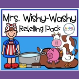 Mrs. Wishy Washy Retelling Pack