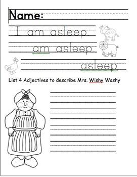 Mrs. Wishy Washy Sleep