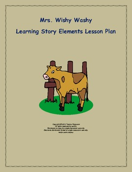 Mrs. Wishy Washy Story Elements Lesson Plan