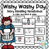 Mrs. Wishy Washy Activity:  Story Retelling Headbands: Farm Activity