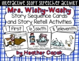 Mrs. Wishy-Washy Story Sequence and Retelling Cards WITH A