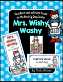 Unit Based on the Book MRS. WISHY-WASHY by Joy Cowley
