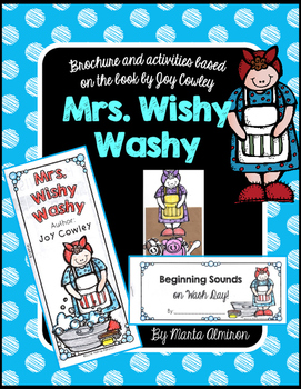 Unit Based on Mrs. Wishy Washy by Joy Cowley