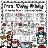 Mrs. Wishy Washy Write the Room  for Farm Theme