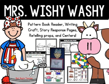 Mrs. Wishy-Washy--Writing Craft, Reader, and Activities for PK-1