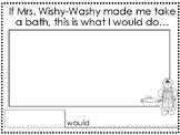 Mrs. Wishy-Washy Writing Paper