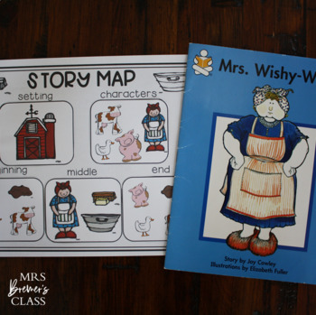 Mrs. Wishy-Washy  {a book study}