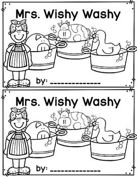 Mrs. Wishy Washy~ emergent reader