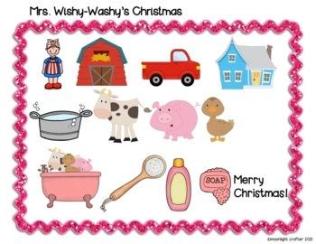 Mrs. Wishy-Washy's Christmas Book Companion
